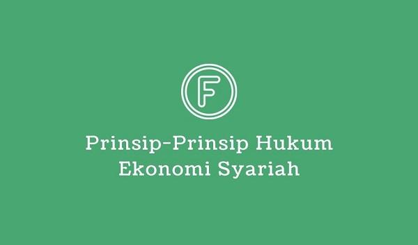 prinsip hukum ekonomi syariah
