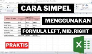 rumus formula left right mid